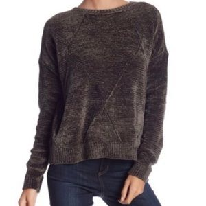 Romeo & Juliet Couture velour oversized sweater